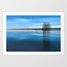 Mirrorman Art Print