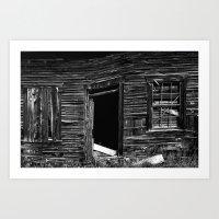 Old Abandonned House Art Print