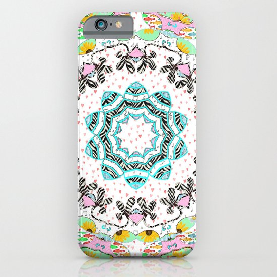 eclectic summer prints iPhone & iPod Case