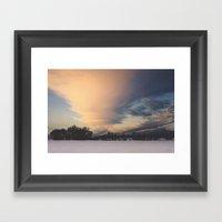 Big Sky Framed Art Print
