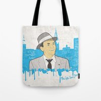 These Litte Town Blues Tote Bag