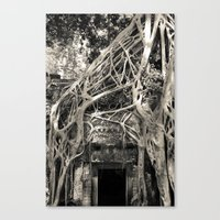 Preah Khan Gate 2 Canvas Print