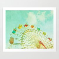 I Remember Summer Art Print