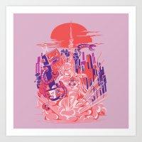 Smash! Zap!! Zooom!! - B… Art Print