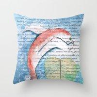 Fish Of Far-Sightedness Throw Pillow