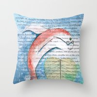 Fish of Far-Sightedness Throw Pillow