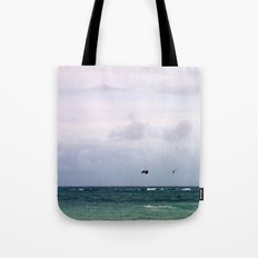 Let's Go Fly a Kite...In The Ocean Tote Bag
