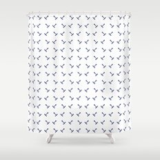 Anchors pattern Shower Curtain
