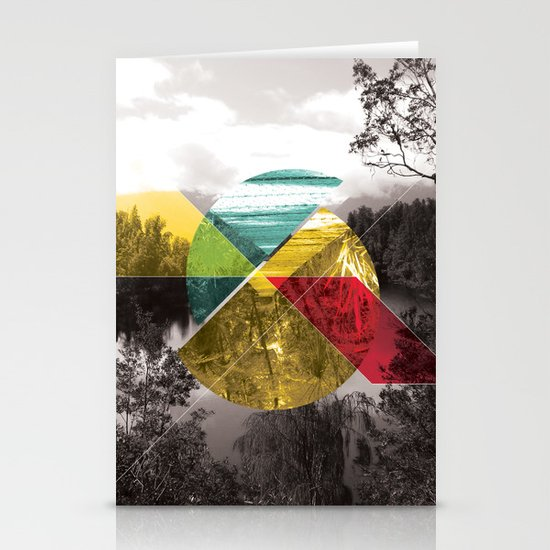 Sojourn series - Lake Mathieson Stationery Card