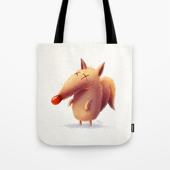 Monday fox Tote Bag