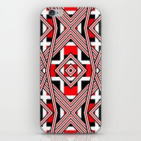 Flannel Scooter iPhone & iPod Skin