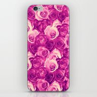 Roses Carpet In Vintage … iPhone & iPod Skin