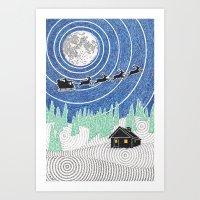 Nemo's Holiday Card 2012 Art Print