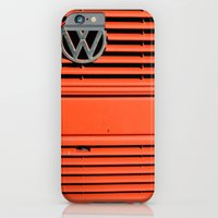 iPhone & iPod Case featuring Red Volkswagen by Marieken
