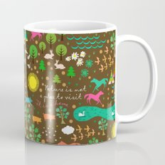 nature is home 1 Mug