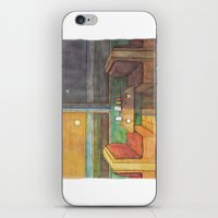 Diner Days, Diner Nights iPhone & iPod Skin