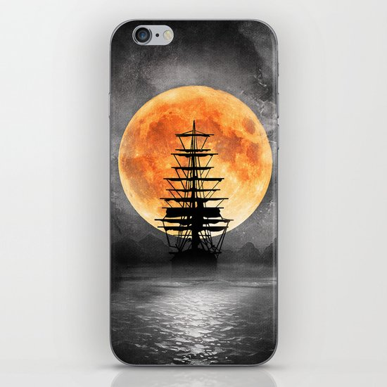 From the moon iPhone & iPod Skin