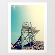 End of Summer Nostalgia II Art Print