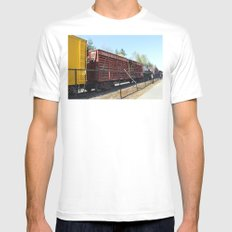 The Line Up Mens Fitted Tee SMALL White