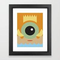 FISHER KING Framed Art Print