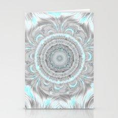 Flowing Mandala- Blue Stationery Cards