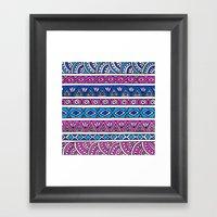 Blueberry Strawberry Str… Framed Art Print