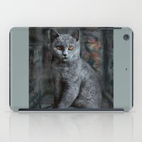 cats instantaneous iPad Case