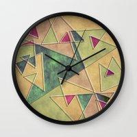 Earth Geometry Wall Clock