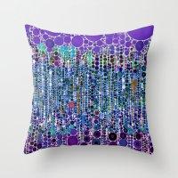 :: Purple Rain :: Throw Pillow