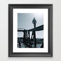 Main River Daredevil  Framed Art Print