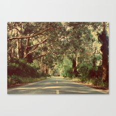 On the road Canvas Print