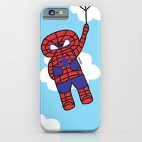 iPhone & iPod Case featuring Superheros by oekie