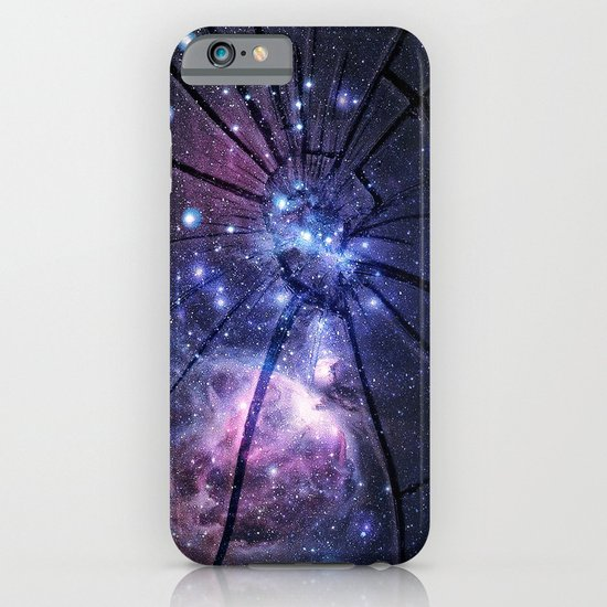 Broken Galaxy iPhone & iPod Case
