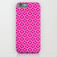 Pink Trefoil iPhone 6 Slim Case