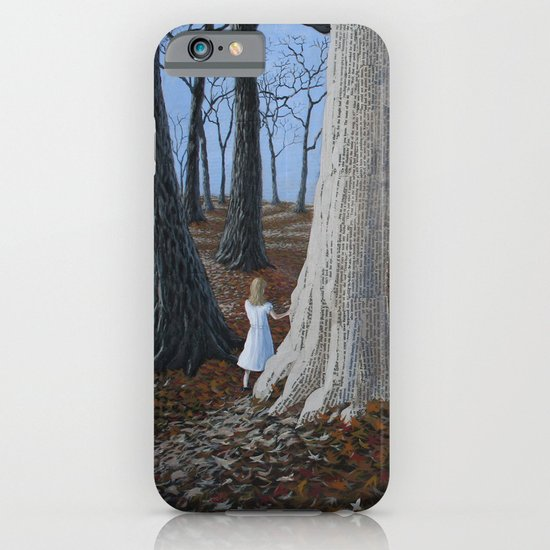 entering a paper world iPhone & iPod Case