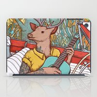 A ride and a song iPad Case