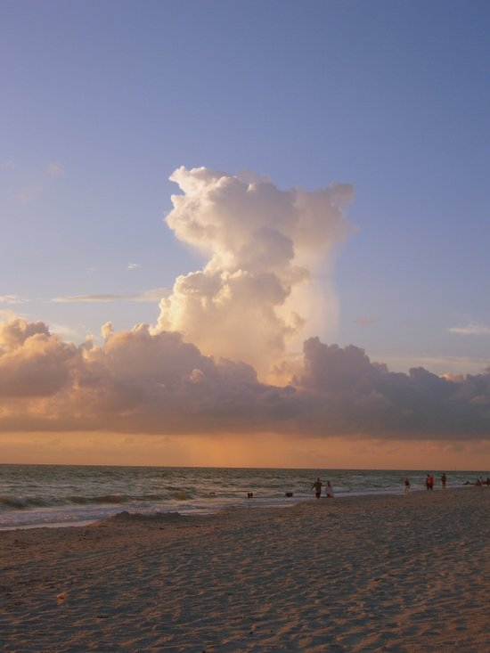 The Cloud Canvas Print