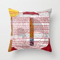 word pillow poems 01 Throw Pillow