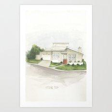 001. Art Print