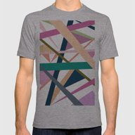 Trendy Autumn Colors Abs… Mens Fitted Tee Athletic Grey SMALL