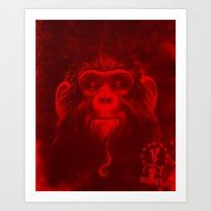 Twelfth Monkey Art Print