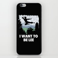 I Want To Be Lee iPhone & iPod Skin