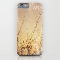 sea plants (gold) iPhone 6 Slim Case