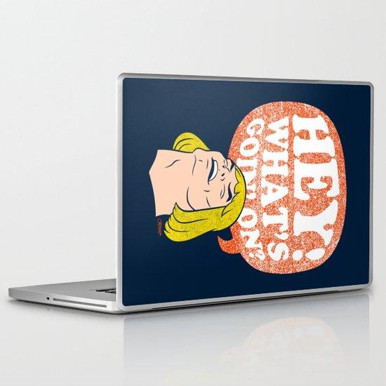 Hey-Man Laptop & iPad Skin