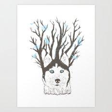 Siberian Art Print