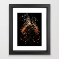 Arising After A Fall Framed Art Print