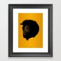 Questlove 2.0 Framed Art Print