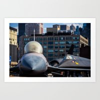On The Deck Of The Intre… Art Print