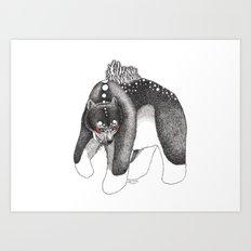 Oso Art Print