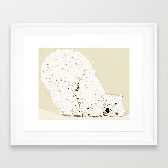 bears life 2 Framed Art Print